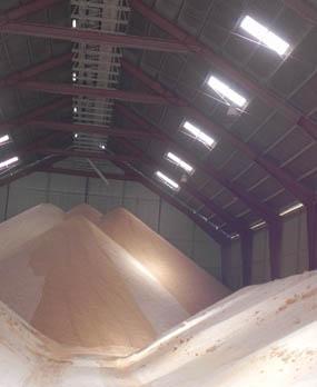 Almacenamiento óptimo de materias primas en las fábricas de alimentos balanceados: estrategias preventivas
