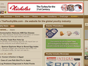 ThePoultrySite.com Advertising Information 2009