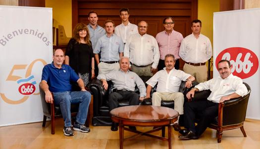 El evento reunió a líderes de Cobb en Sudamérica y los Estados Unidos con Reproductores Cobb de Argentina.
