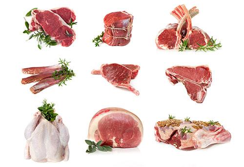 mercado mundial de las carnes-pollo-puerco